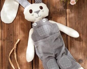 Stuffed handmade bunny