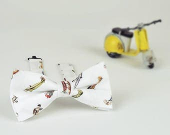 Airplane Print Men Bowtie, Mens Bowtie, Mens bow tie Gift, Business Gifts, Designer bowties, Wedding Bowties, Cotton bowties, Christmas Gift