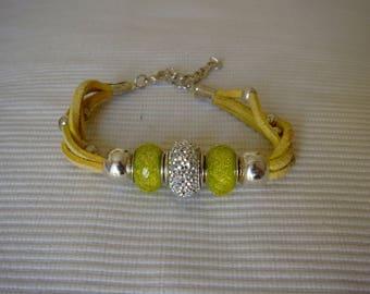 Alcantara Vanilla Bracelet