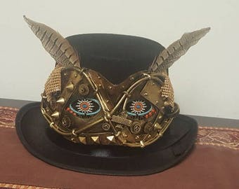 how to make a ladies steampunk hat