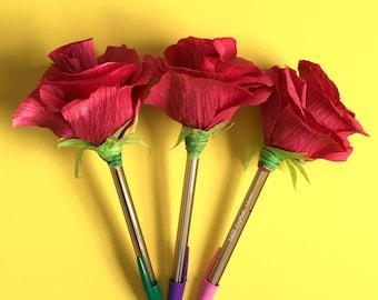Triple EverLAsting Rose Pens