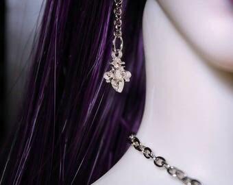 Fleur de Lis earrings ( earrings for BJD)