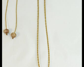 Moonstone macrame necklace / pendant