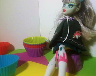 Outfit Monster High - Model : Cupcake Zombie.