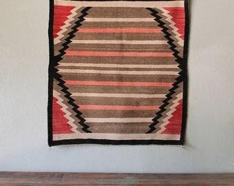 vintage navajo rugsaddle blanket