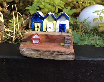 Driftwood beach houses