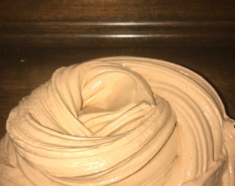 Creamy Peanut Butter Scented Butter Slime