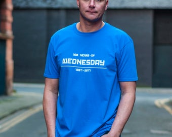 "Sheffield Wednesday ""150 Years 0f Wednesday"" T Shirt"