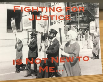 Social Justice Thank You Card