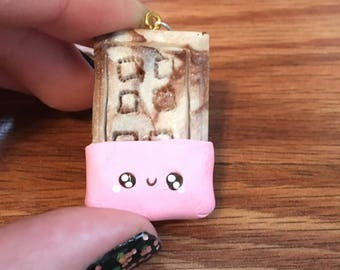 Kawaii Chocolate bar charm