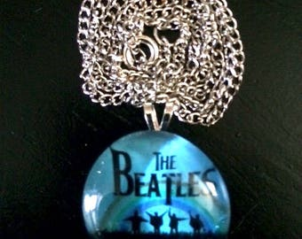 Glass Beatles Necklace