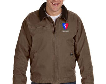 38th Infantry Division Embroidered DRI-DUCK Outlaw Jacket-7517