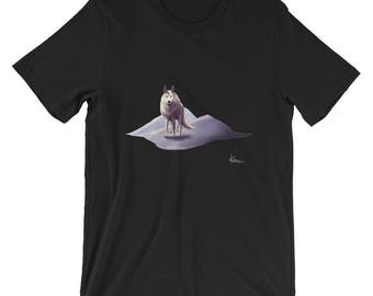 Arctic Wolf by Keon - Short-Sleeve Unisex T-Shirt