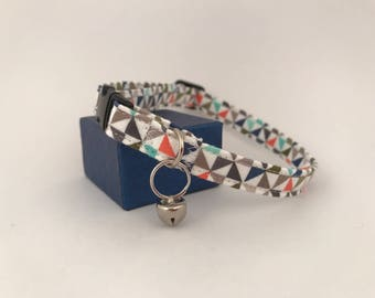 Small Pet Collar, Geometric