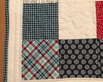 Farmers Market Handmade Quilt
