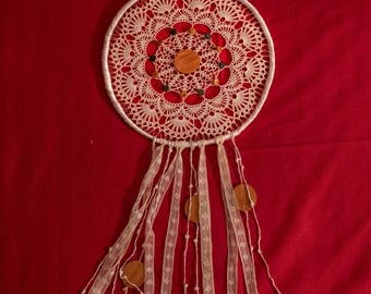 Dream catcher hand crafted Made in ITALY (SINGLE MEDIUM)