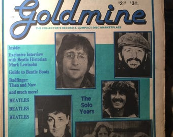 Goldmine Magazine The Collector's Record & Compact Disc Marketplace November 17, 1989
