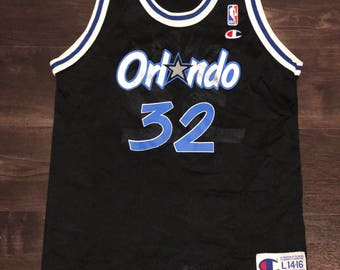 Shaquille O'Neal Orlando Magic Vintage NBA Champion Jersey