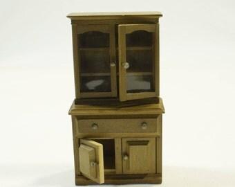 Vintage Miniature Kitchen Cabinet