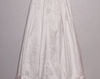 Antique white baby girl's baptism or blessing dress