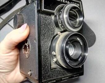 Rare Lubitel-166B (166V) Russian TLR Vintage Camera.