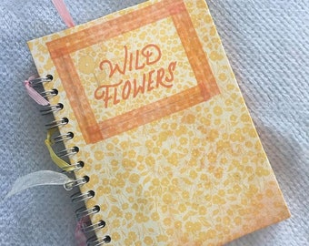 Vintage style notebook totally handmade.