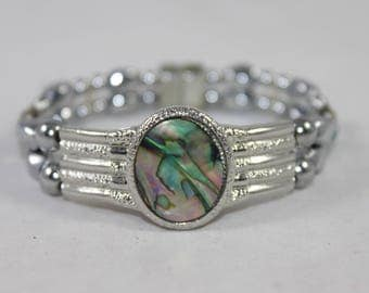 Oval Abalone High Quality Magnetic Bracelet