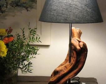 Table Lamp in Juniper wood