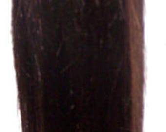 Dark Brown Hair Ponytail