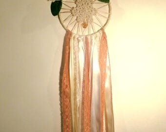 Doilie Rose Dreamcatcher