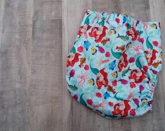 The Little Mermaid Pocket Cloth Diaper Set