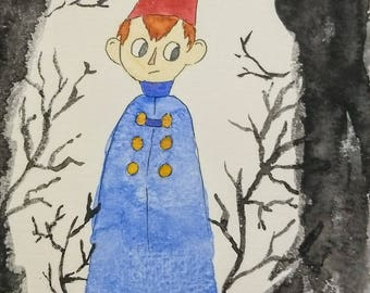 Wirt - Over the Garden Wall Watercolor