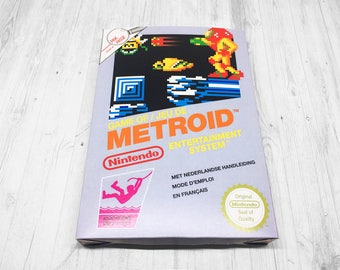 Box NES: Metroid [FAH]