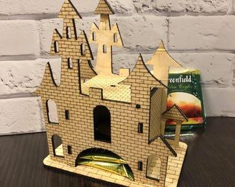 Tea house - Dragon castle   Medieval Castle - Tea Storage   Kitchen decor   Tea Bag Box   Tea Storage