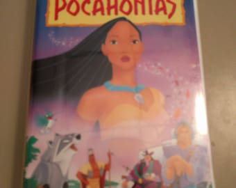 Walt Disney Masterpiece Collection - POCAHONTAS VHS - tested and working!