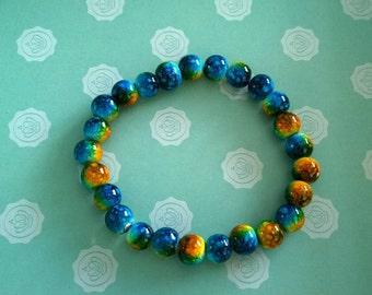 Handmade Multi Coloured Bracelet