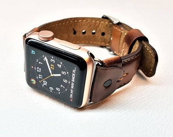 Apple Watch Band, Apple Watch Band 42mm, Apple Watch Band 38mm, Leather Watch Band,  Apple watch strap, iwatch band, brown iwatch strap