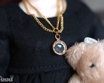 Victorian style necklace for Blythe or similar doll.
