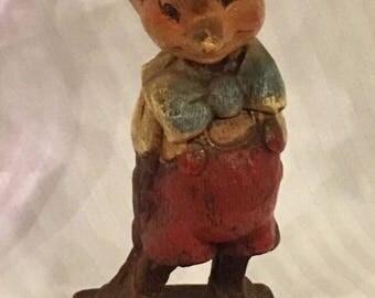 Walt Disney's Pinocchio Vintage Figurine