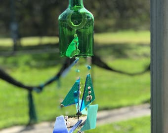 Handmade wind chime- By the Sea