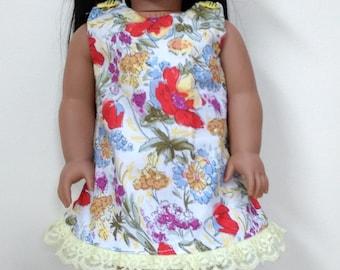 "Springtime dress for your 18""dolls"