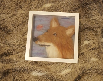 Felted Fox Picture