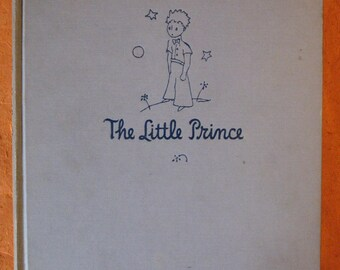 The Little Prince  by Antoine de Saint-Exupery (Early Printing)