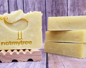 Naked Soap, Vegan Soap, Handmade Soap, Unscented Soap, Simple Soap, No Additive Soap, Mother's Day Gift, Gift for Her, Natural Soap