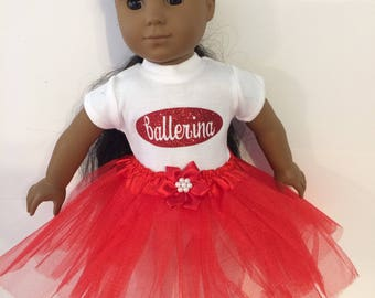 "Ballerina #10 doll clothes for the 18"" doll like the American girl"