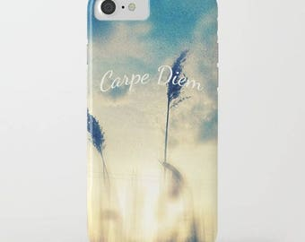 nature photo iphone case-blue sky-sunlight-typography-inspiring words-quote art-samsung phone cover-iphone cover-photo quote