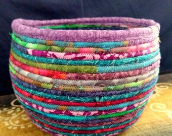 Mermaids Magick - Large handcrafted clothesline basket