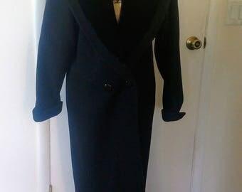 Vintage Wool Coat, Beau Brum