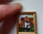 One 48th Scale prints, Shalford Mill , near Guildford, England. An 18th century watermill.