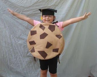 Kids Costume Smart Cookie Costume Funny Costume Pun Costume Punny Chocolate Cookie  Kids Childrens Halloween Chocolate Chip Cookie Costume